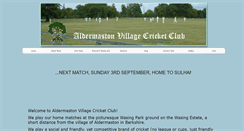 Preview of aldermastonvcc.co.uk